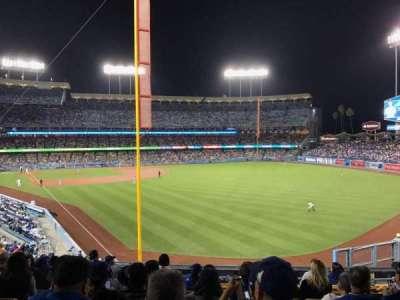 Dodger Stadium, vak: 166LG, rij: K, stoel: 4