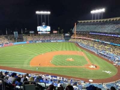 Dodger Stadium, vak: 11RS, rij: M, stoel: 19