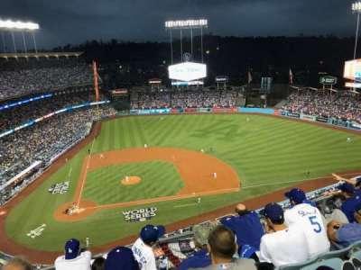 Dodger Stadium, vak: 12TD, rij: E, stoel: 5