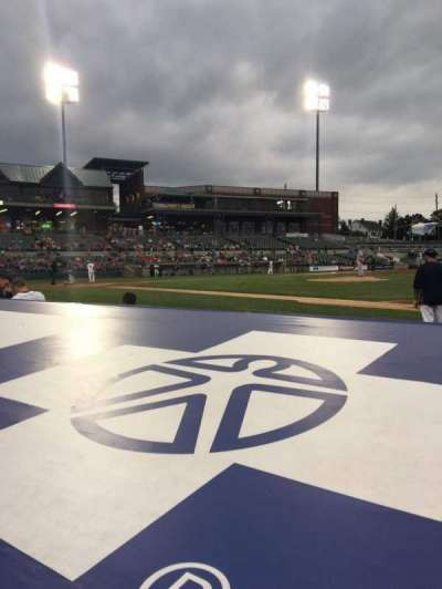 Td Bank Ballpark, vak: 115, rij: C, stoel: 2