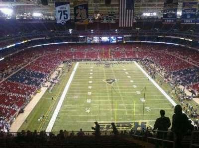 The Dome at America's Center, vak: 12, rij: 16, stoel: 9