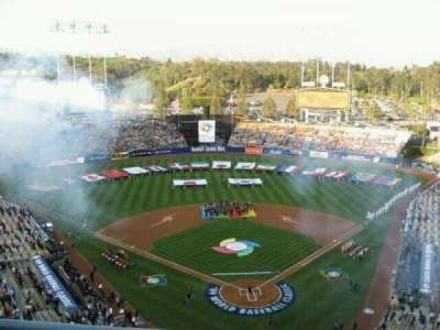 Dodger Stadium, vak: 3TD, rij: B, stoel: 10