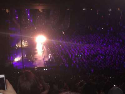 Madison Square Garden, vak: 222, rij: 18, stoel: 4