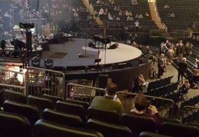 Madison Square Garden, vak: 115, rij: 9, stoel: 7