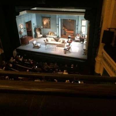 Hudson Theatre, vak: Balcony, rij: A, stoel: 4