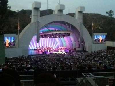Hollywood Bowl, vak: K2, rij: 6, stoel: 101