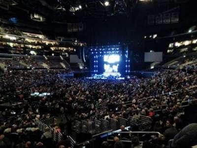 Staples Center, vak: 205, rij: 1, stoel: 3