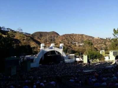 Hollywood Bowl, vak: U2, rij: 2, stoel: 2