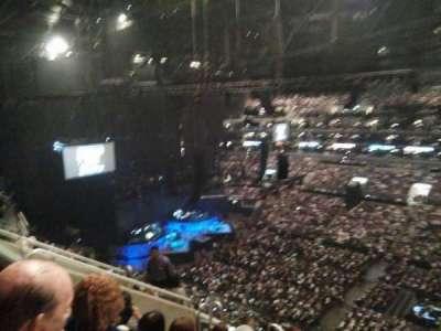 Staples Center, vak: 316, rij: 8, stoel: 20