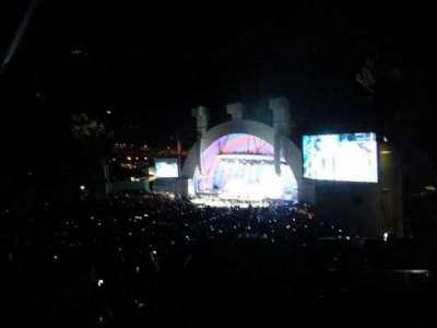 Hollywood Bowl, vak: L3, rij: 1, stoel: 32