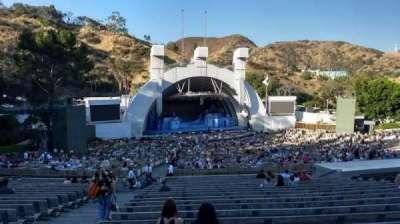Hollywood Bowl, vak: J2, rij: 21, stoel: 43