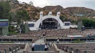 Hollywood Bowl, vak: P1, rij: 9, stoel: 2