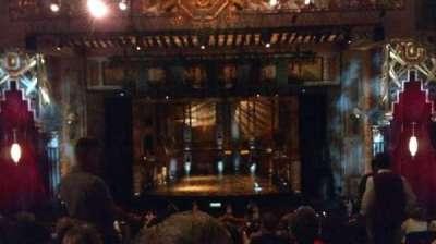 Pantages Theatre (Hollywood), vak: Mezz Center, rij: F, stoel: 102