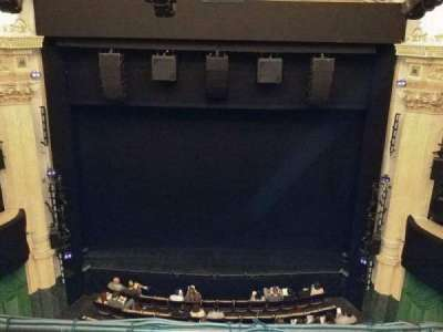 Hudson Theatre, vak: Balcony, rij: B, stoel: 108
