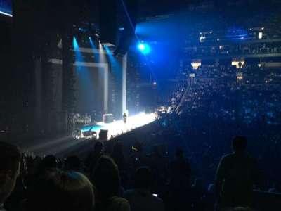 Nationwide Arena, vak: 166, rij: T, stoel: 1
