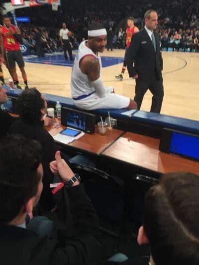 Madison Square Garden, vak: 5, rij: 2, stoel: 4