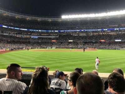 Yankee Stadium, vak: 104, rij: 5, stoel: 22
