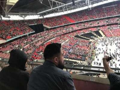 Wembley Stadium, vak: 504, rij: 3, stoel: 120