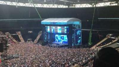 Wembley Stadium, vak: 504, rij: 3, stoel: 117