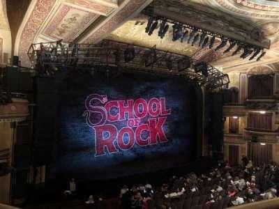 Winter Garden Theatre, vak: MezzC, rij: A, stoel: 126