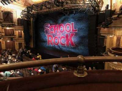 Winter Garden Theatre, vak: Mezzo, rij: A, stoel: 18