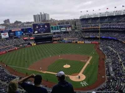 Yankee Stadium, vak: 421, rij: 7, stoel: 7