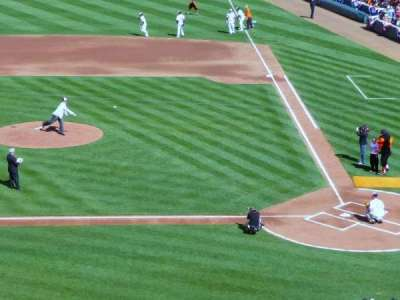 Oriole Park at Camden Yards, vak: 246, rij: 4, stoel: 4