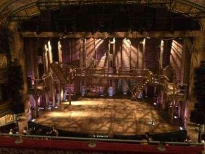 Richard Rodgers Theatre, vak: Front Mezz, rij: D, stoel: 104