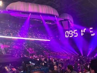 Mohegan Sun Arena, vak: 17, rij: N, stoel: 15