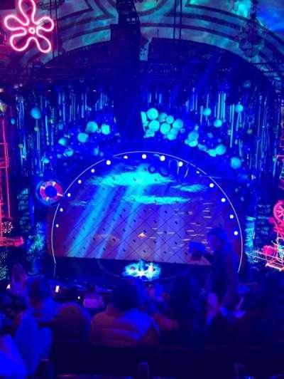 Palace Theatre (Broadway), vak: Mezz, rij: H, stoel: 110