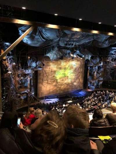 Gershwin Theatre, vak: Mezz, rij: D, stoel: 9