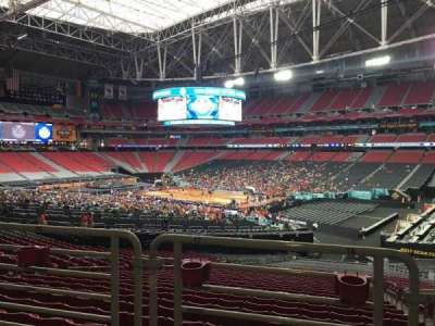 University of Phoenix Stadium, vak: 103, rij: WC, stoel: 16