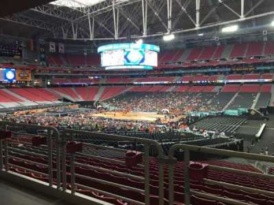University of Phoenix Stadium, vak: 104, rij: WC, stoel: 3