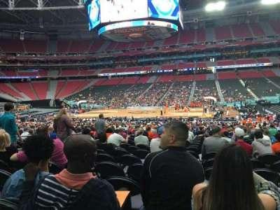 University Of Phoenix Stadium, vak: 107, rij: SS, stoel: 9