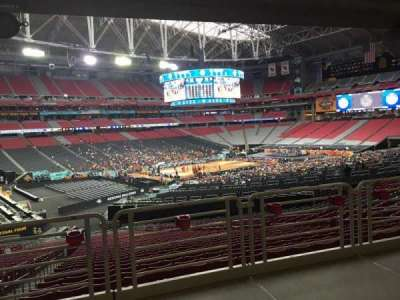University Of Phoenix Stadium, vak: 135, rij: WC, stoel: 13