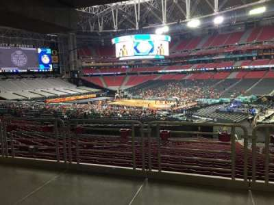 University of Phoenix Stadium, vak: 125, rij: WC, stoel: 6