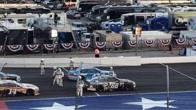 Texas Motor Speedway, vak: PL422, rij: 23, stoel: 16
