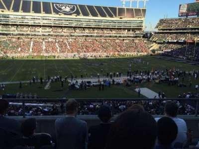 Oakland Alameda Coliseum, vak: 219, rij: 4, stoel: 3