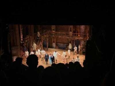 CIBC Theatre, vak: Mezzanine R, rij: K, stoel: 14