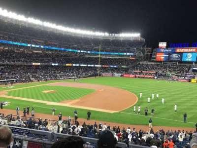 Yankee Stadium, vak: 214A, rij: 3, stoel: 7