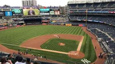 Yankee Stadium, vak: 322, rij: 6, stoel: 4