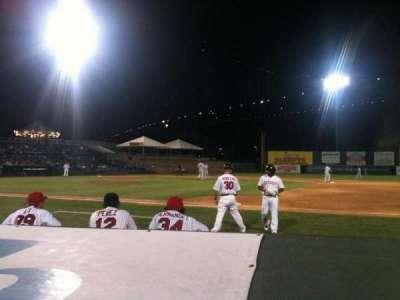 Campbell's Field, vak: 104, rij: 1, stoel: 3