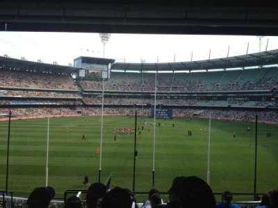 Melbourne Cricket Ground, vak: N3, rij: H, stoel: 13