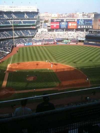 Yankee Stadium, vak: 417, rij: 6, stoel: 11