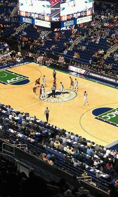 Greensboro Coliseum, vak: 235
