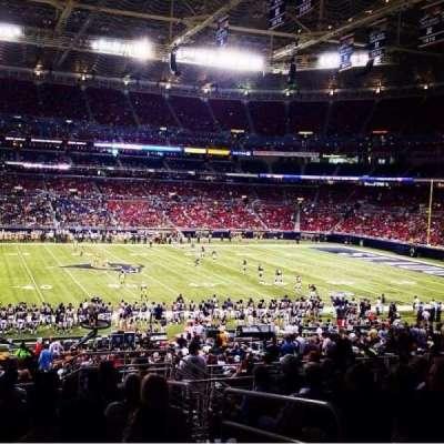 The Dome at America's Center, vak: 115, rij: KK, stoel: 4