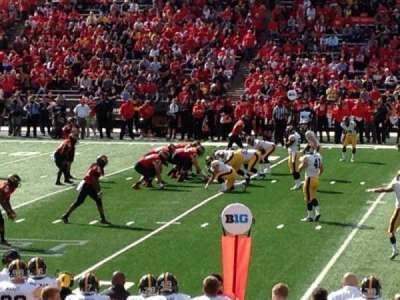 Maryland Stadium, vak: 306, rij: 5, stoel: 4
