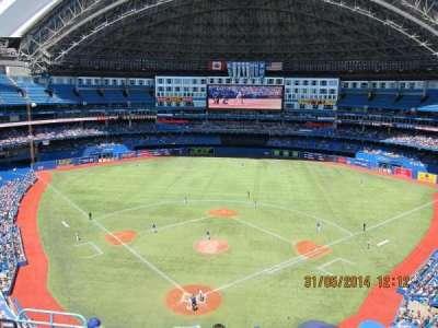 Rogers Centre, vak: 524AR, rij: 7, stoel: 3
