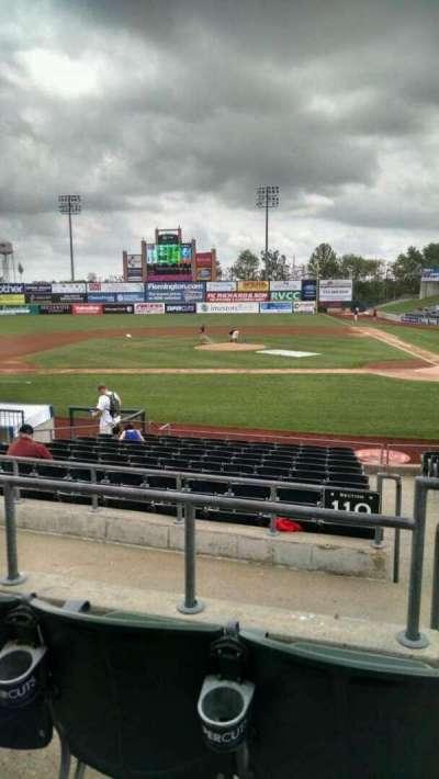 TD Bank Ballpark, vak: 210, rij: M, stoel: 1