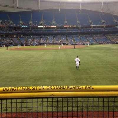 Tropicana Field, vak: 144, rij: U, stoel: 10
